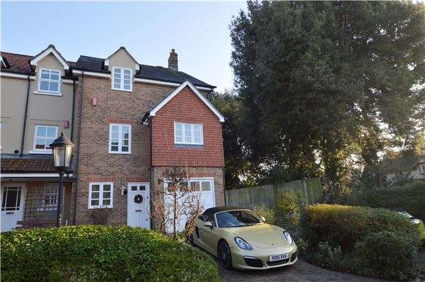 3 Bedrooms End Of Terrace House for sale in Morningside Close, Prestbury, CHELTENHAM, Gloucestershire, GL52 3BY