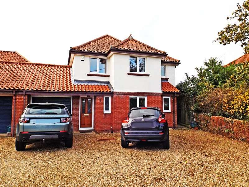 4 Bedrooms Link Detached House for sale in Sandhole Lane, Little Plumstead, Norfolk, NR13