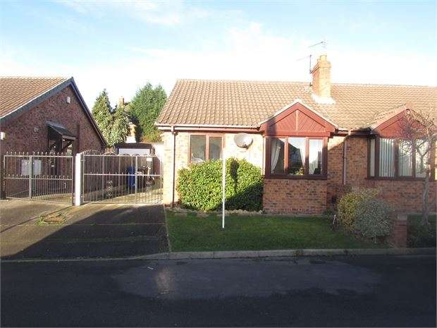2 Bedrooms Semi Detached Bungalow for sale in Castle Close, Monk Bretton, Barnsley, S71 2QR
