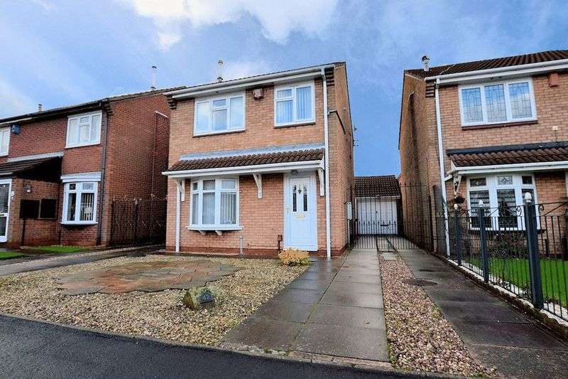 3 Bedrooms Detached House for sale in Goode Close, Oldbury