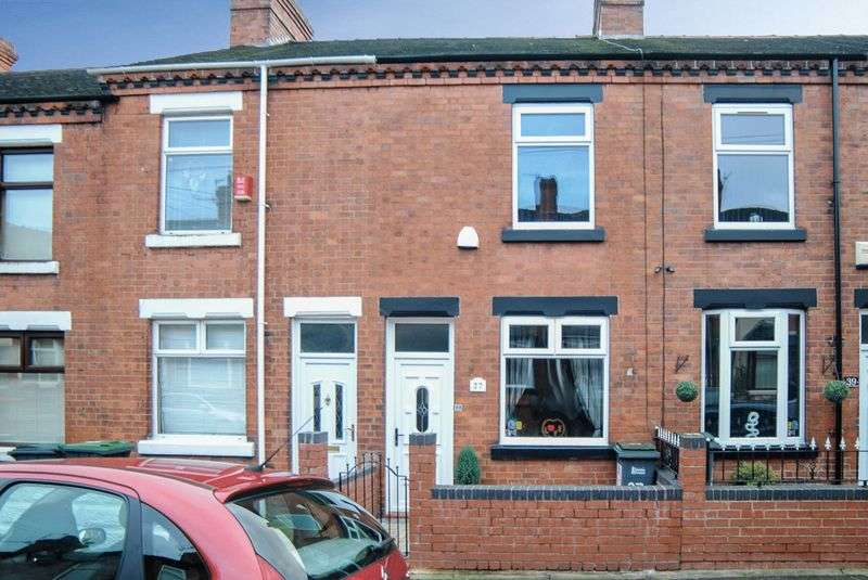 2 Bedrooms Terraced House for sale in Neville Street, Oakhill, Stoke-On-Trent, ST4 5BP
