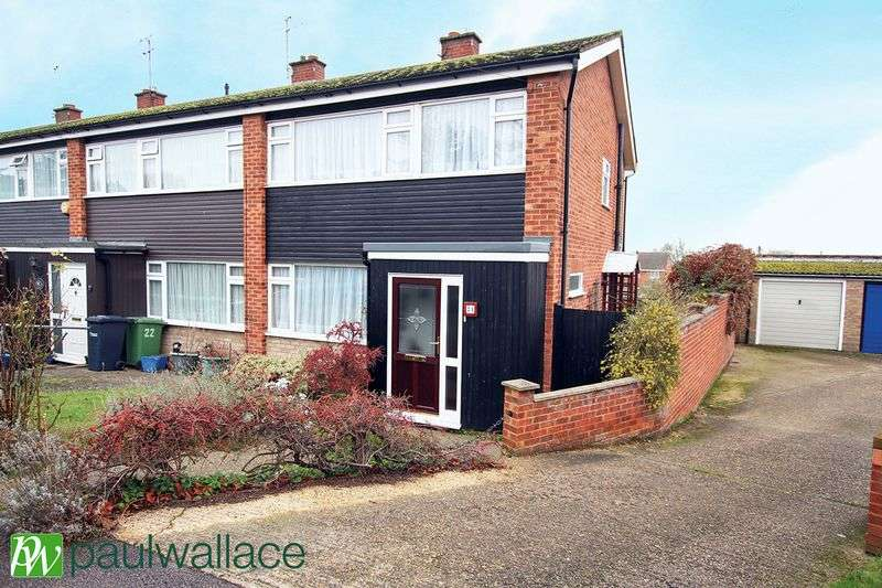 3 Bedrooms Terraced House for sale in Goodwood Close, Hoddesdon