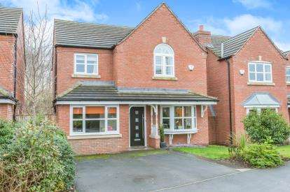 4 Bedrooms Detached House for sale in Mill Pool Way, Sandbach, Cheshire