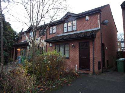 2 Bedrooms Flat for sale in Abbotside Close, Manchester, Greater Manchester