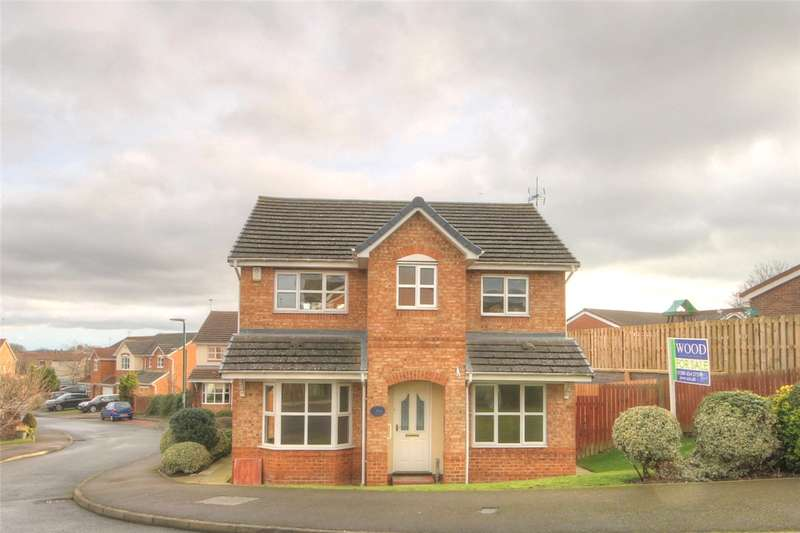 4 Bedrooms Detached House for sale in Loweswater Grove, West Auckland, Bishop Auckland, DL14