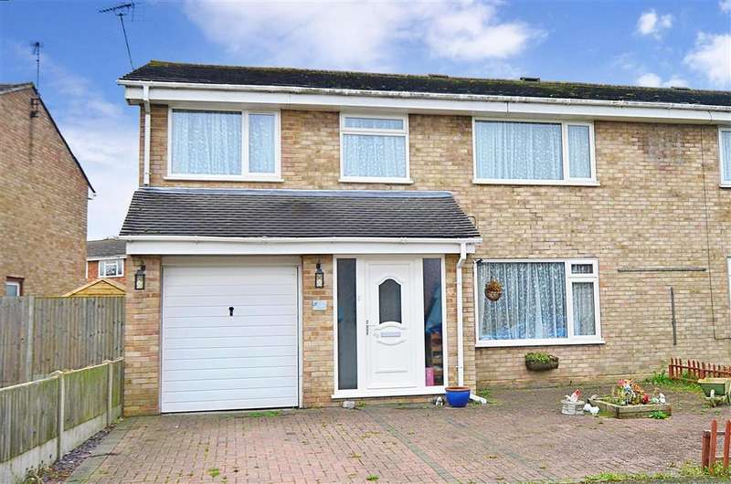 4 Bedrooms Semi Detached House for sale in Hillcroft Road, Herne Bay, Kent