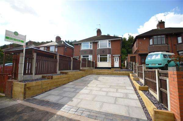 2 Bedrooms Semi Detached House for sale in North Street, Stoke, Stoke-On-Trent