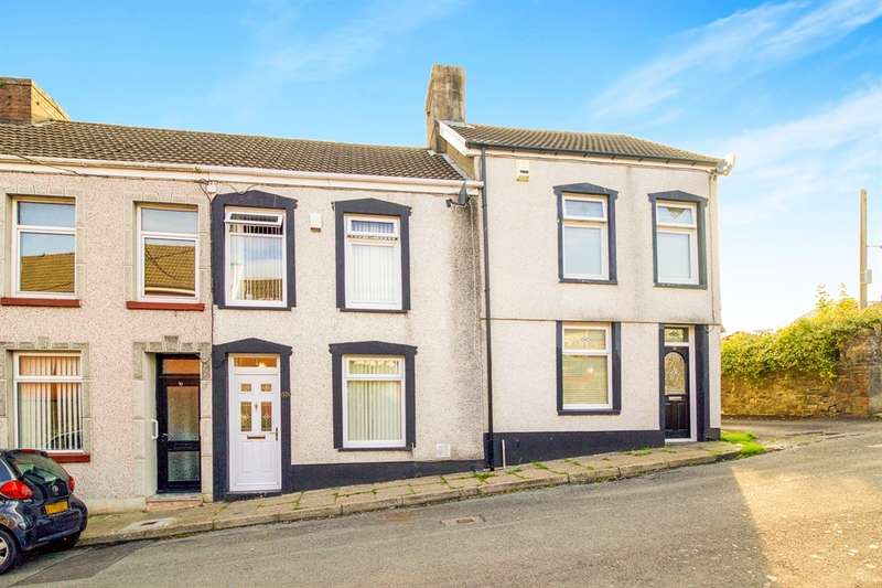 3 Bedrooms Terraced House for sale in Lewis Terrace, Penydarren, Merthyr Tydfil