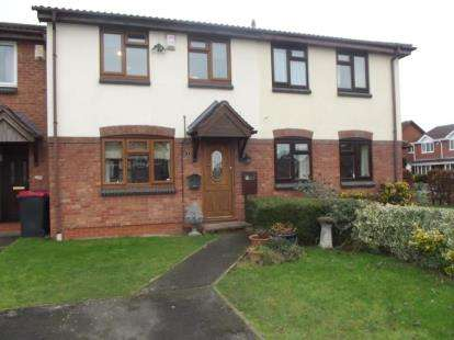 3 Bedrooms Terraced House for sale in Martins Drive, Atherstone, Warwickshire