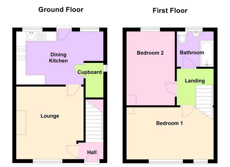 2 Bedrooms Semi Detached House for sale in Halifax Drive, Leicester