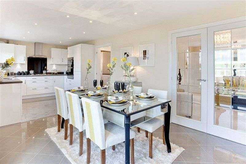 4 Bedrooms Detached House for sale in A development of 2, 3, 4 & 5 bedroom homes at Bramble Chase, Honeybourne, Worcestershire WR11 7XR