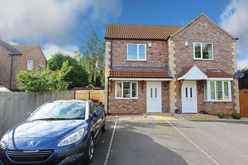 3 Bedrooms Semi Detached House for sale in Poachers Close, Barrow-Upon-Humber