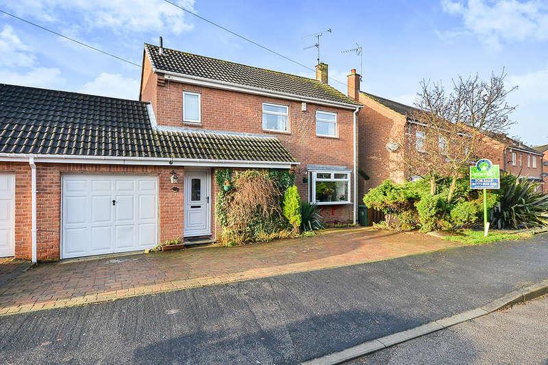 3 Bedrooms Detached House for sale in Gordon Crescent, Broadmeadows,South Normanton, Alfreton, DE55