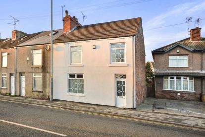 3 Bedrooms End Of Terrace House for sale in Alfreton Road, Sutton-In-Ashfield, Nottinghamshire, Notts