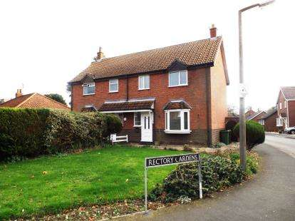 3 Bedrooms Semi Detached House for sale in Hingham, Norwich, Norfolk