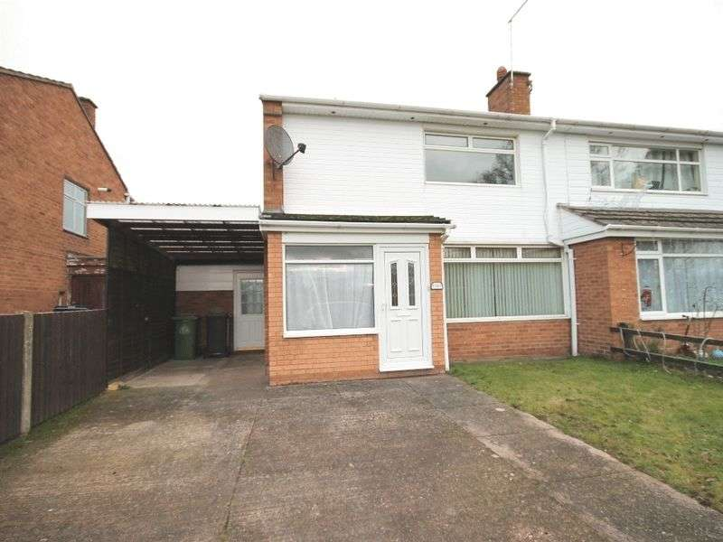 2 Bedrooms Terraced House for sale in Dutton Close, Market Drayton