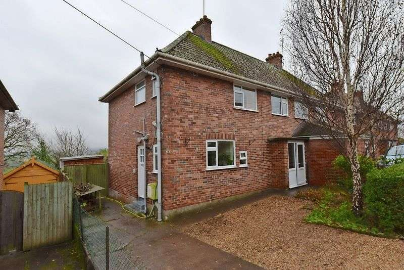 3 Bedrooms Semi Detached House for sale in 63 Tor View Avenue, Glastonbury, BA6 8AG