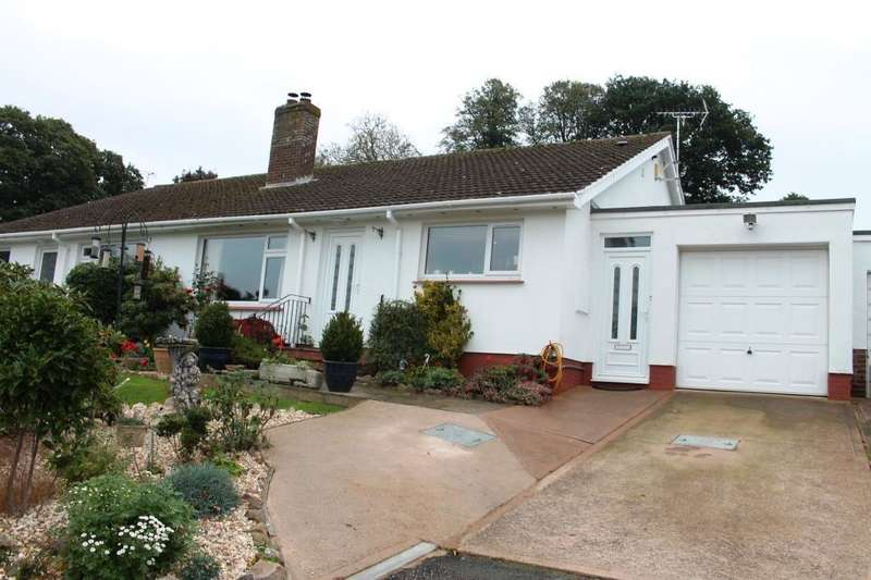 2 Bedrooms Semi Detached Bungalow for sale in Metcombe, Tipton St John