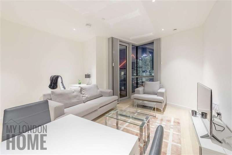 1 Bedroom Property for sale in Charrington Tower, Canary Wharf, London, E14