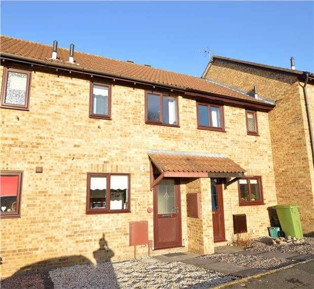 2 Bedrooms Terraced House for sale in Meadow Close, CHELTENHAM, GL51 0TZ