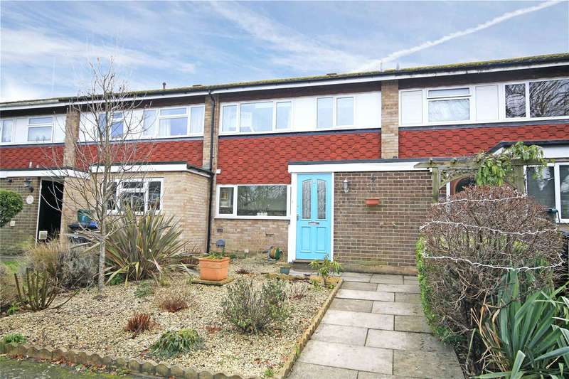 3 Bedrooms Terraced House for sale in Rivermead, Byfleet, West Byfleet, Surrey, KT14