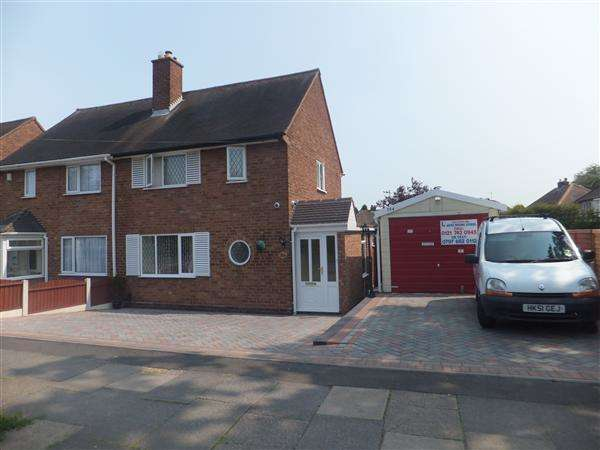 2 Bedrooms Semi Detached House for sale in Barrows Lane, Sheldon, Birmingham