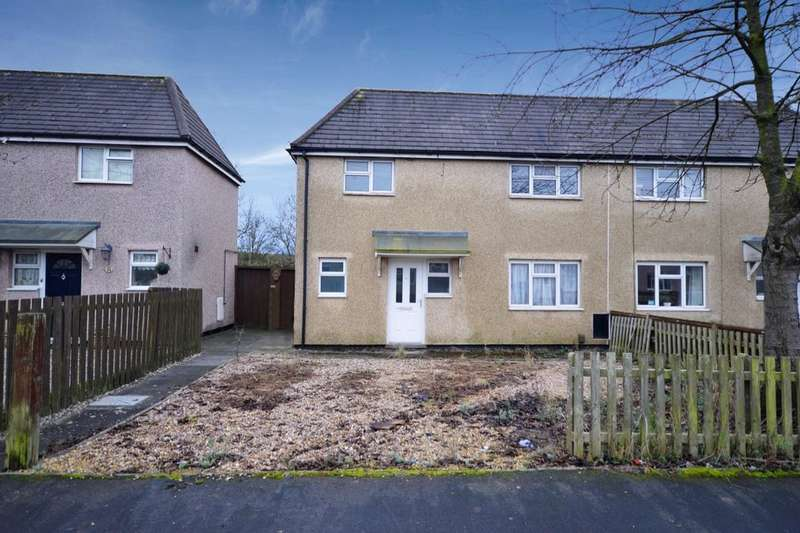 2 Bedrooms Semi Detached House for sale in St. Christophers Road, Ellistown, Coalville, LE67