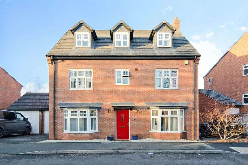 5 Bedrooms Detached House for sale in Trafalgar Way, Lichfield