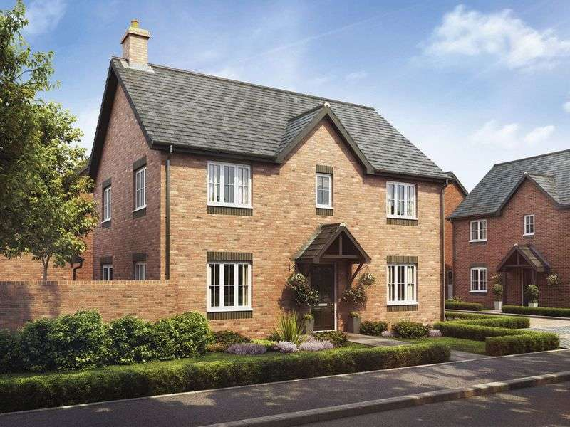 4 Bedrooms Detached House for sale in Plot 69 The Cedar, Barley Fields, Uttoxeter