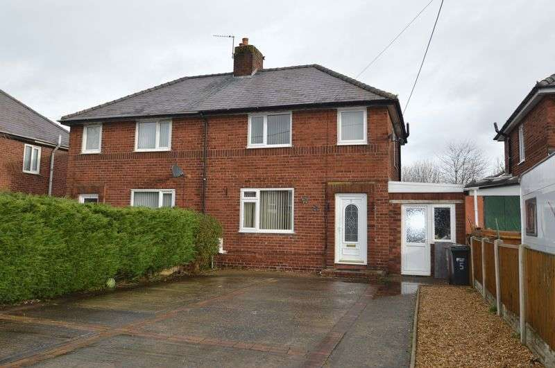3 Bedrooms Semi Detached House for sale in Maes Owen, Mold