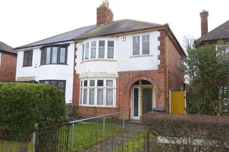 3 Bedrooms Semi Detached House for sale in Evington Drive, Leicester
