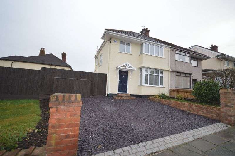 3 Bedrooms Semi Detached House for sale in Gleggside, West Kirby