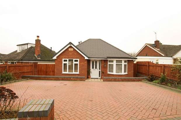 3 Bedrooms Detached Bungalow for sale in Giffords Croft, Lichfield, Staffordshire