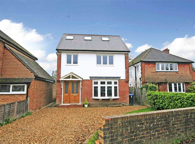 4 Bedrooms Detached House for sale in Queens Avenue, Byfleet, West Byfleet, Surrey, KT14