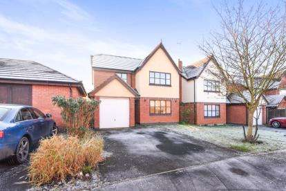 4 Bedrooms Detached House for sale in Fairwater Close, Evesham, Worcestershire, .
