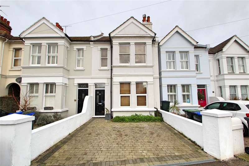4 Bedrooms Terraced House for sale in Northcourt Road, Worthing, West Sussex, BN14