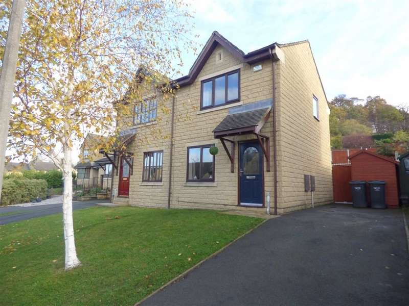 2 Bedrooms Property for sale in Sugden Close, BRIGHOUSE, West Yorkshire, HD6