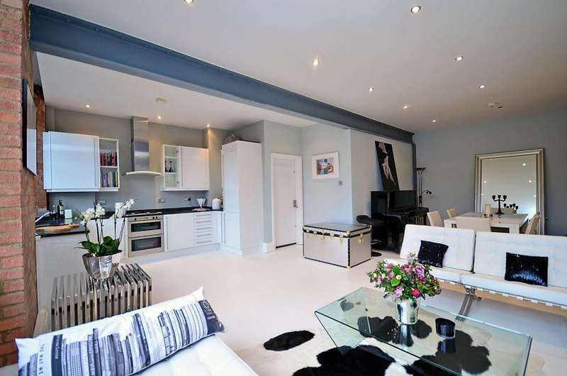 1 Bedroom Flat for sale in Shepherdess Place, Islington, N1