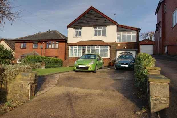 4 Bedrooms Detached House for sale in Oldham Road, Lydgate, Lancashire, OL4 4DG
