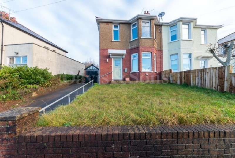 3 Bedrooms Semi Detached House for sale in Queens Hill Crescent, Off St Marks Crescent, Newport. NP20 5HG