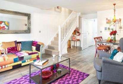 2 Bedrooms Terraced House for sale in Saxon Rise, Queen Elizabeth Road, Nuneaton