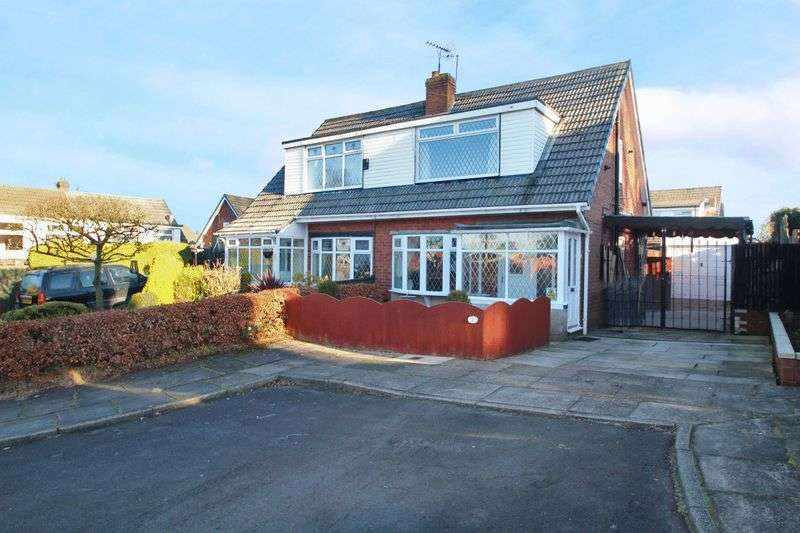 3 Bedrooms Semi Detached House for sale in 3 Bowden Close, Castleton, Rochdale OL11 2XT