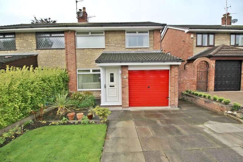 3 Bedrooms Semi Detached House for sale in Woodedge, Ashton-In-Makerfield, Wigan, WN4