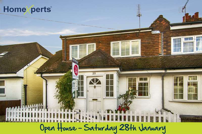 3 Bedrooms Semi Detached House for sale in Primrose Road, Walton-On-Thames, KT12