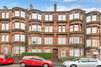 2 Bedrooms Flat for sale in Hotspur Street, North Kelvinside