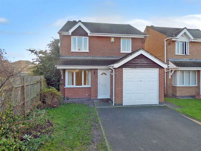 3 Bedrooms Detached House for rent in Blanford Gardens, West Bridgford, NG2 7UQ