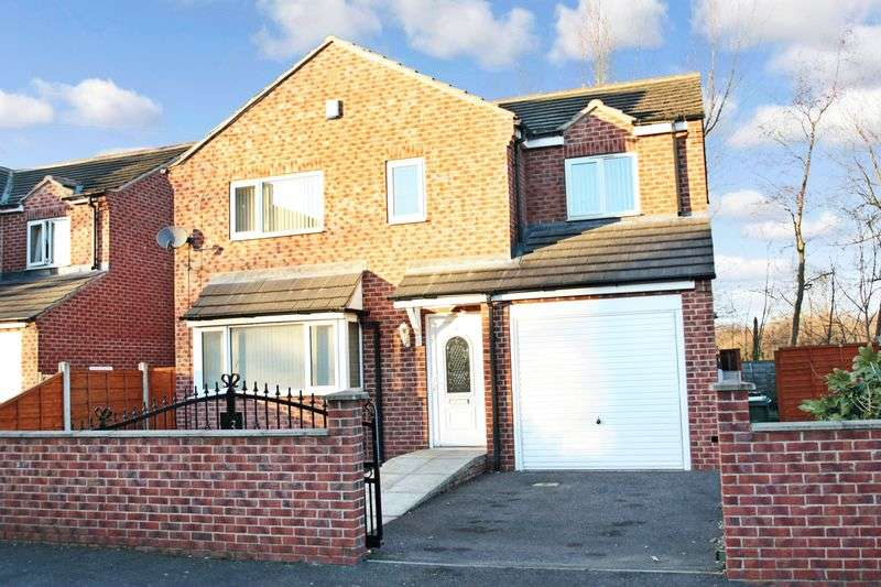 4 Bedrooms Detached House for sale in Faith Street, South Kirkby