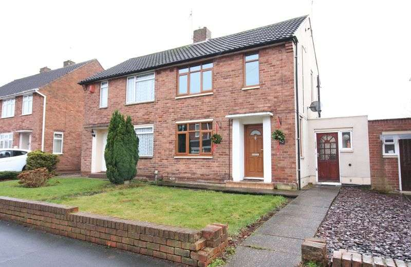 2 Bedrooms Semi Detached House for sale in WORDSLEY, Tack Farm Road