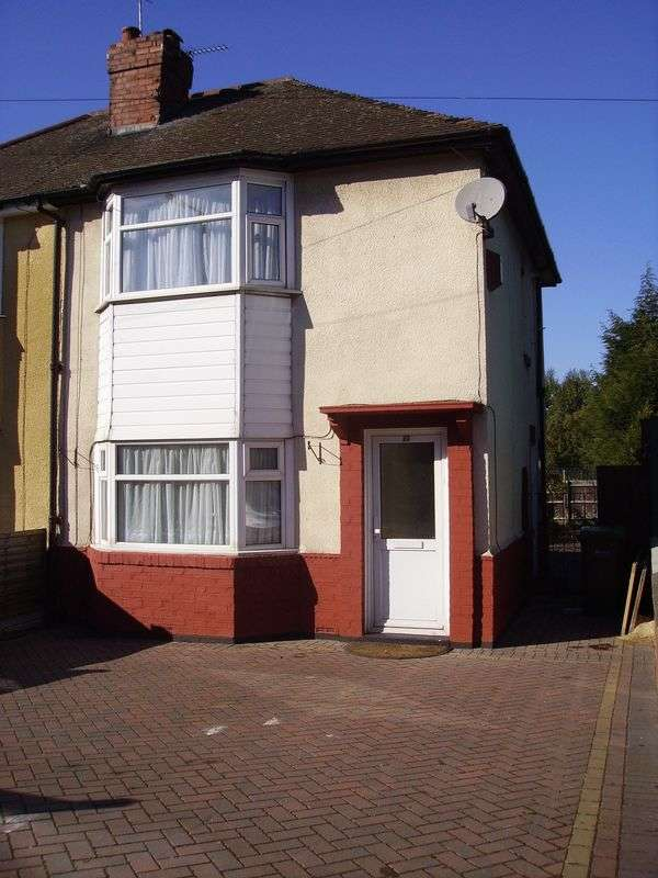 3 Bedrooms Semi Detached House for sale in Causeway Green Road, B68 8LE