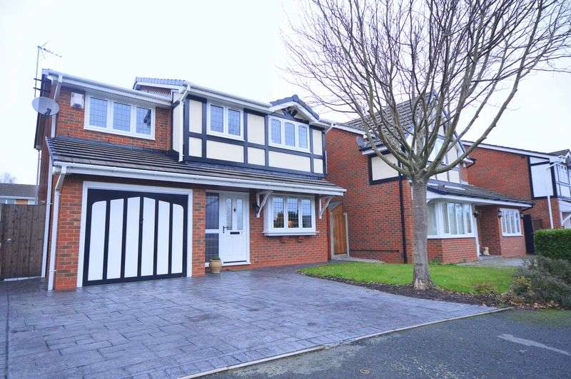 4 Bedrooms Detached House for sale in Firethorne Road, Halewood